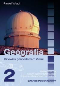 Geografia. Człowiek gospodarzem - okładka podręcznika