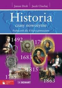 Historia. Czasy nowożytne. Klasa 2. Gimnazjum. Podręcznik - okładka podręcznika