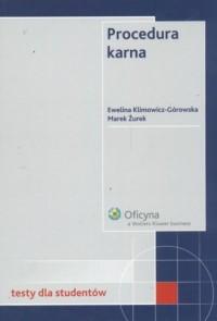 Procedura karna Testy - okładka książki