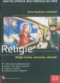 Religie. Multimedialna encyklopedia PWN (CD) - okładka książki