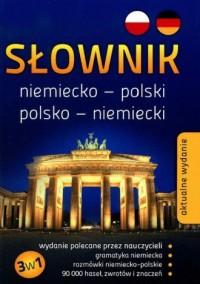 Słownik niemiecko-polski, polsko-niemiecki - okładka książki
