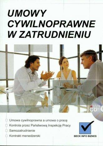 Umowy cywilnoprawne w zatrudnieniu - okładka książki