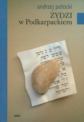 Żydzi w Podkarpackiem - okładka książki