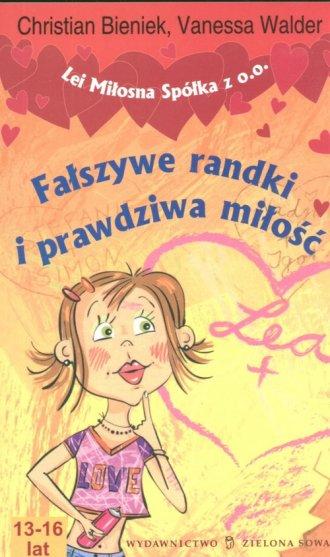 Fałszywe randki i prawdziwa miłość - okładka książki