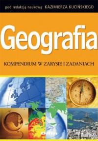 Geografia. Kompendium w zarysie i zadaniach - okładka książki