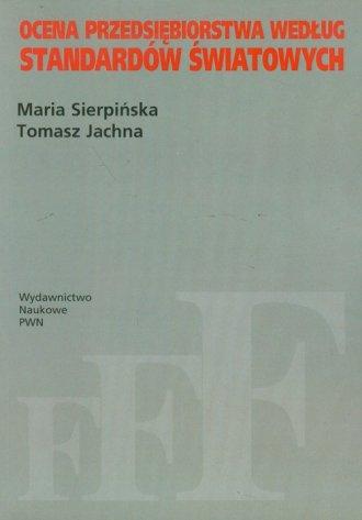 Ocena przedsiębiorstwa według standardów - okładka książki