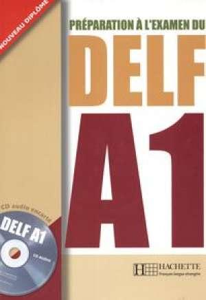 Preparation a lexamen du Delf A1 - okładka podręcznika