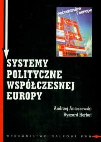 Systemy polityczne współczesnej - okładka książki