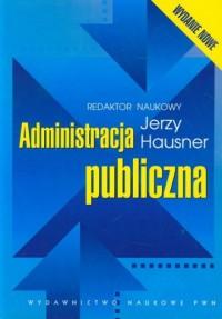 Administracja publiczna - okładka książki