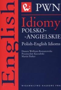 Idiomy polsko-angielskie - okładka książki