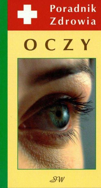 Oczy Poradnik zdrowia - okładka książki