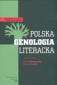 Polska genologia literacka - okładka książki