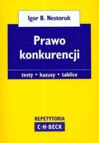 Prawo konkurencji - okładka książki