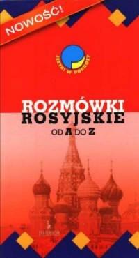 Rozmówki rosyjskie od A do Z - okładka podręcznika