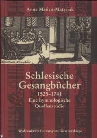 Schlesische Gesangbücher 1525 - - okładka książki