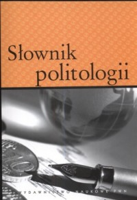 Słownik politologii - okładka książki