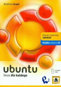 Ubuntu Linux dla każdego (+ CD) - okładka książki