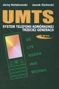 UMTS. System telefonii komórkowej - okładka książki