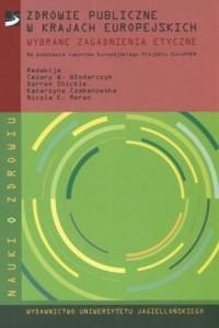 Zdrowie publiczne w krajach europejskich - okładka książki