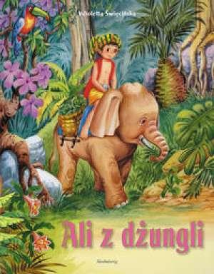 Ali z dżungli - okładka książki