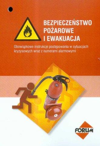 Bezpieczeństwo pożarowe i ewakuacja. - okładka książki