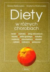 Diety w różnych chorobach - okładka książki