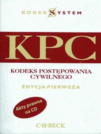Kodeks postępowania cywilnego (+ - okładka książki