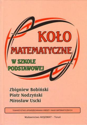 Koło matematyczne w szkole podstawowej - okładka podręcznika