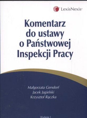 Komentarz do ustawy o Państwowej - okładka książki