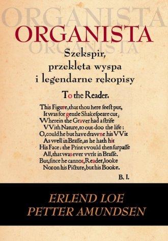 Organista - okładka książki