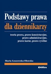 Podstawy prawa dla dziennikarzy - okładka książki