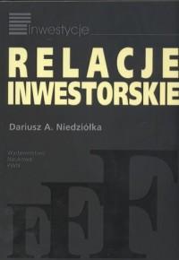 Relacje inwestorskie - okładka książki
