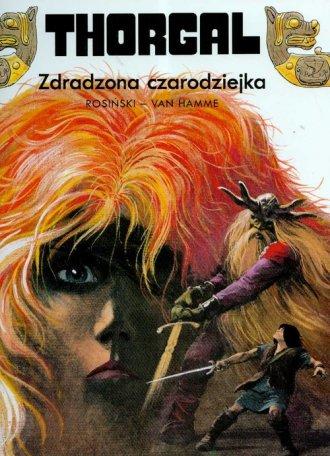 Thorgal. Zdradzona czarodziejka - okładka książki