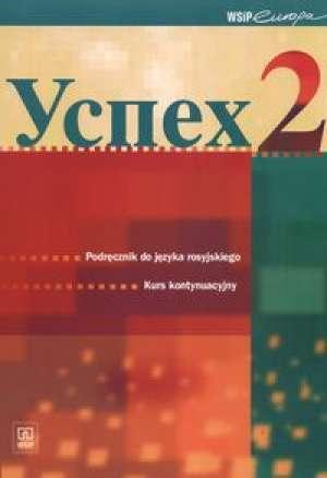 Uspiech 2. Podręcznik do języka - okładka podręcznika