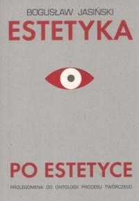 Estetyka po estetyce - okładka książki