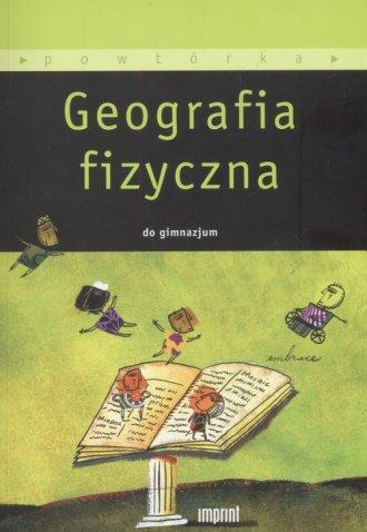 Geografia fizyczna do gimnazjum - okładka podręcznika