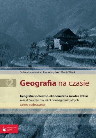 Geografia na czasie cz. 2. Geografia - okładka podręcznika