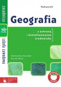 Geografia z ochroną i kształtowaniem środowiska. Zasadnicza szkoła zawodowa. Podręcznik - okładka podręcznika