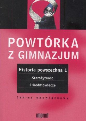 Historia powszechna. Tom 1. Powtórka - okładka podręcznika