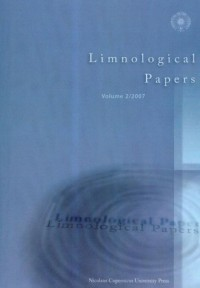 Limnological Papers. Volume 2/2008 - okładka książki