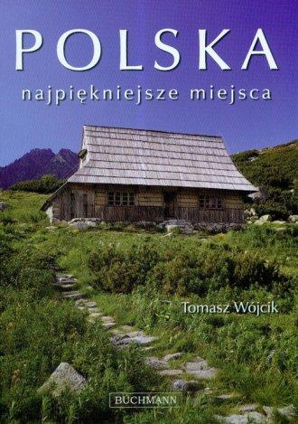 Polska najpiękniejsze miejsca - okładka książki