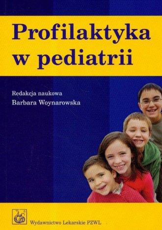 Profilaktyka w pediatrii - okładka książki