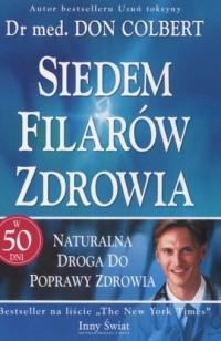 Siedem filoarów zdrowia - okładka książki