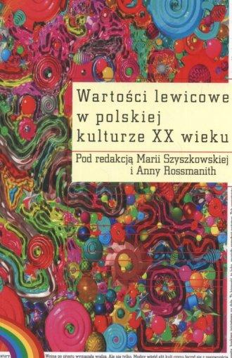 Wartości lewicowe w polskiej kulturze - okładka książki