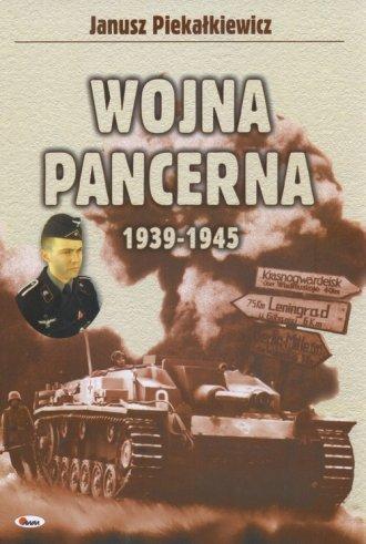 Wojna pancerna 1939-1945 - okładka książki