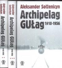 Archipelag Gułag 1918-1956. Tom 1-3 - okładka książki