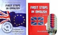 First Steps in English. Język angielski dla początkujących. Cz. 1-12 (+ 6 CD audio) - pudełko programu