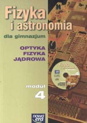 Fizyka i astronomia. Moduł 4. Podręcznik. - okładka podręcznika