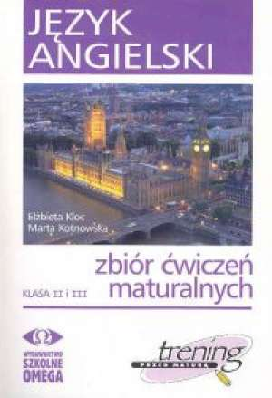 Język angielski Kl II i III Trening - okładka książki