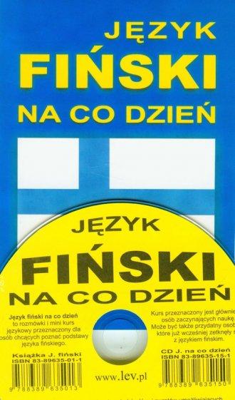 Język fiński na co dzień. Mini - okładka podręcznika
